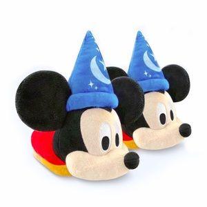 Disney Mickey Mouse Magic Sorcerer Slide Slippers